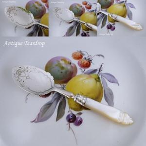 ★★Teardrop 白蝶貝ハンドルのジャムスプーン入荷です★★