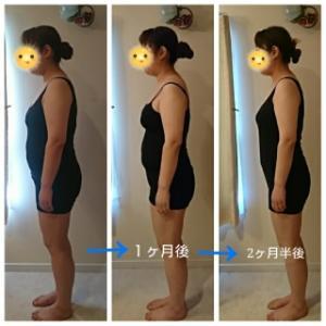 ダイエット症例!開始からたった2カ月半でー10㎏♪