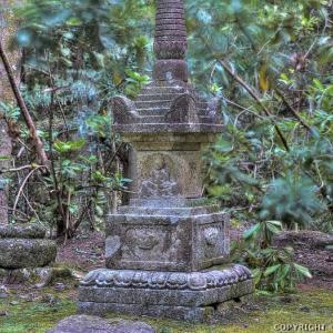 本山寺の石造美術 (岡山)