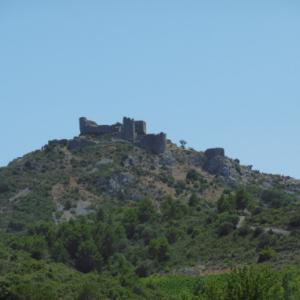 フランスの美しき異端の城と世界遺産都市へ⑱アギラール城⑲カルカッソンヌ★仏南西部オクシタニー地方紀行10last