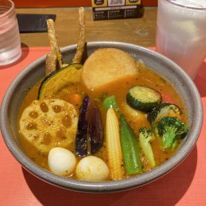 【SAMA(末広町)/いももちと彩り野菜カリー】