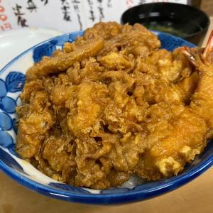 ◆高架下の老舗で黒い天丼を食す/天米(有楽町)◆