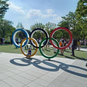 国立競技場オリンピックスタジアム周りを一周してみた