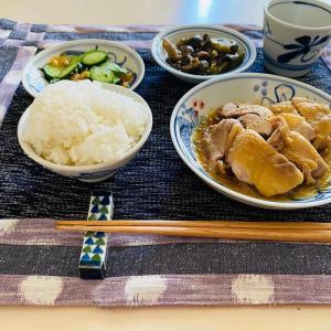 久留米絣のランチョンマットと草履