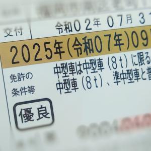 ゴールド継続できました☆5年ぶりの免許更新