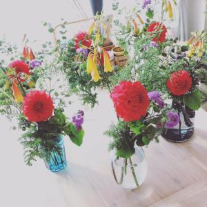 花のある暮らし 4か月 vol.3 平日クラス レポート