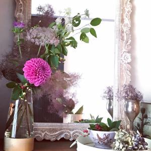 週末の花のある暮らしは。。。♪