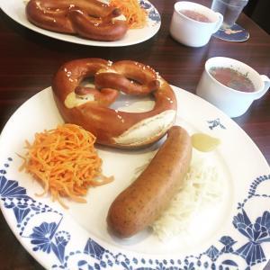 ドイツ料理のランチ@カッツ・ロイファー