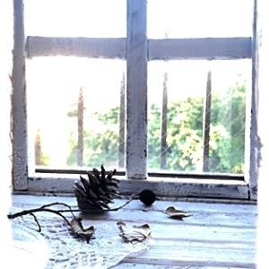 アンティーク風窓枠
