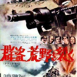 群盗荒野を裂く マカロニウエスタン映画は金になる!イタリア映画界は色めき立ち、兎に角!派手な大殺戮皆殺し銃撃戦闘映画の見本的映画作品です。
