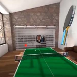 卓球リアルすぎて凄い!!