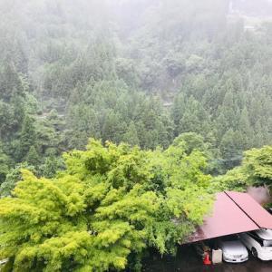 雨の中、祖谷に行くの巻①