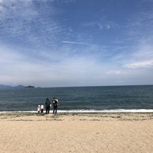 遊びに行く③香川県津田の松原