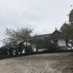 雨の四国中央市②川之江城