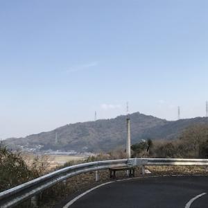 山道を行く上