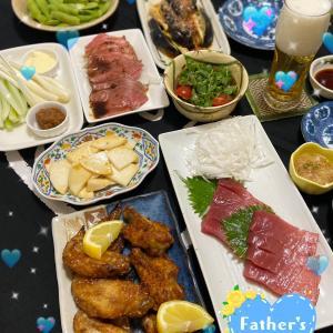 突撃!うちの父の日ディナー2021