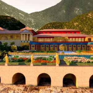 【Capri Musicscape】これは貴重。元祖!ローマ時代のヴィラ 色鮮やかに再現される