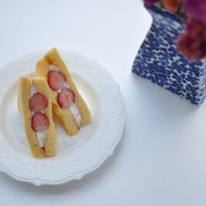 1苺5の日のいちごのケーキサンド