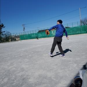藤沢市天神スポーツ公園で⚾自主トレ