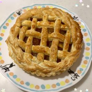 ★小4お菓子作り♪アップルパイ★