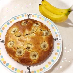 ★忘れんぼのバナナケーキとzozoタイムセール★