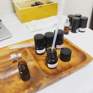 初めての調香:私のための「オン&オフの香り」を作りました。