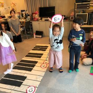 [残席1名様]4月17日3.4歳のための鍵盤リトミック