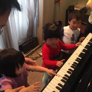 [残1名様]5月年少さんのためのピアノグループレッスン