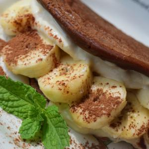 Vegan Banana Omlette ビーガンバナナオムレット