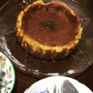 バスク風チーズケーキ焼いてみた。