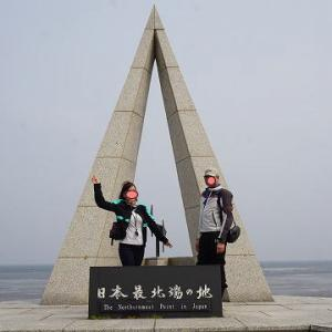 北海道ツーリング vol.5 ついに最北端へ!これぞ北海道 宗谷岬 白い道とエサヌカ線