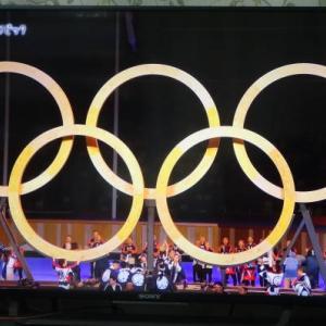 東京オリンピック始まる