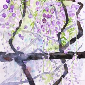 趣味の透明水彩画「結果よりも進捗感」