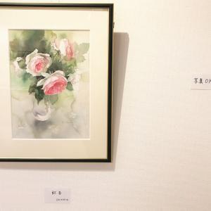 加藤喜久美さんの個展に行きました(大阪:ホルベインギャラリー:20日火曜日まで)