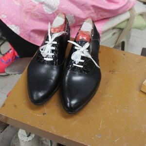 堂々19足目☆彡仕事でも安心して履ける、自分専用木型で作る靴!