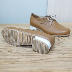 リピートして大量生産中の紐靴