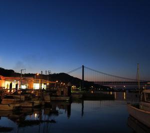 瀬戸大橋の朝焼け夕焼け