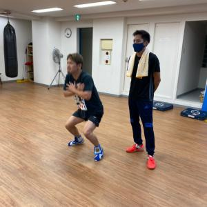 丸野先生のフィジカルトレーニング