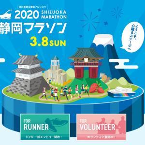 静岡マラソン2020 エントリー