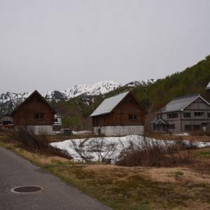 銀山平森林公園トレッキングコースへ