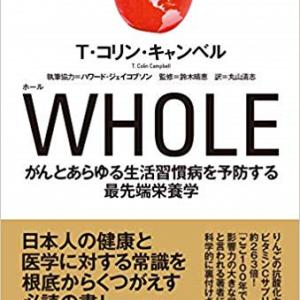 再告知すいません(;^^A 拙訳本『WHOLE』がユサブルより1月30日に発売されます!
