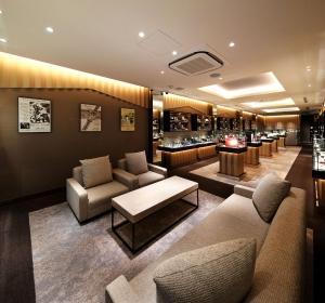 一風騎士 大阪本店 - 竣工写真。