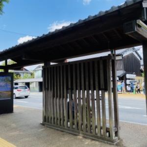 奈良と春日大社とバス停。