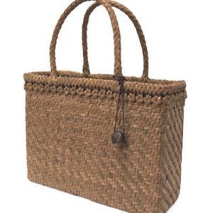 *増税前に・・・いかがでしょうか (^_-) 宮本工芸/山葡萄バッグ一段花結びアジロ