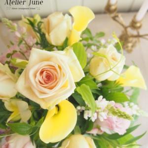 6月7月上旬体験レッスンのお花が決まりました!【フラワーアレンジメント教室】