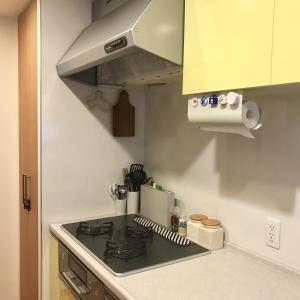 キッチン換気扇とガスコンロの大掃除。