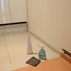ウタマロクリーナーで玄関掃除