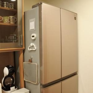 冷蔵庫買い替えました