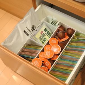 食器棚引き出しの掃除&整理収納見直し2