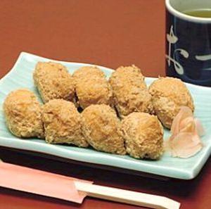 寿司の歴史NO5…油揚げを裏返して使う稲荷すし